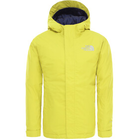 The North Face Snow Quest Chaqueta Niños, citronelle green